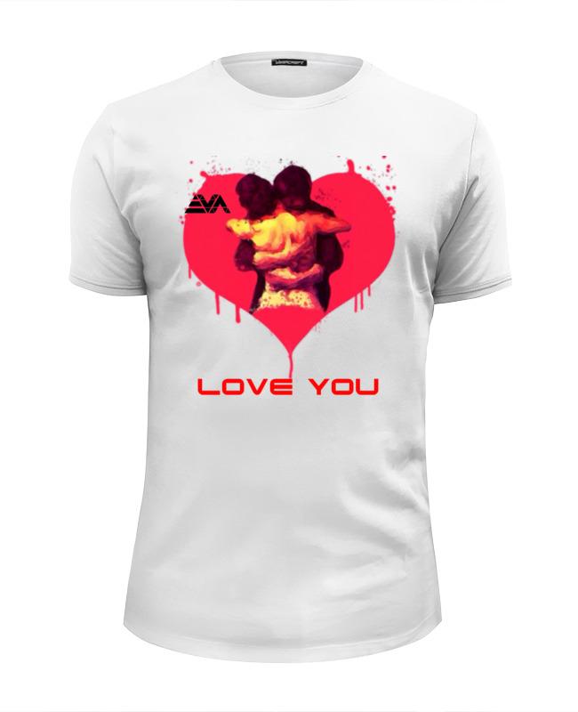 Футболка Wearcraft Premium Slim Fit Printio Love you футболка wearcraft premium slim fit printio de vision 十三