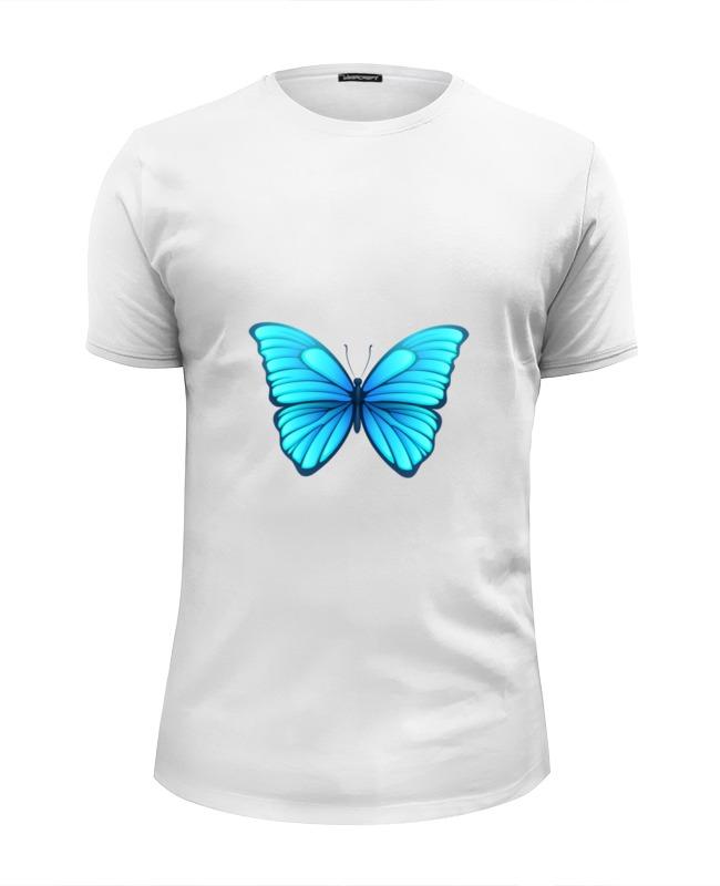 Футболка Wearcraft Premium Slim Fit Printio Butterfly футболка wearcraft premium slim fit printio butterfly