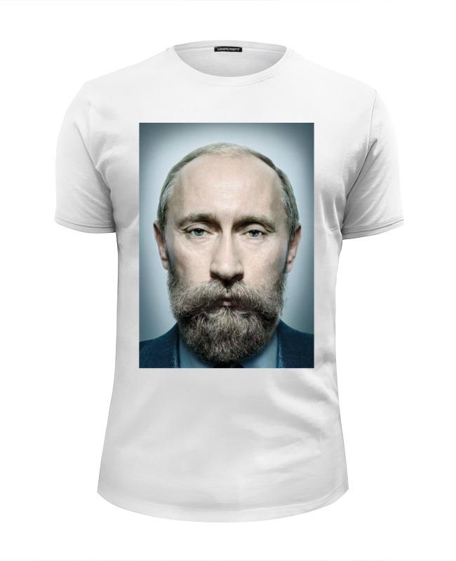 Футболка Wearcraft Premium Slim Fit Printio Путинизм николай углов путинизм в