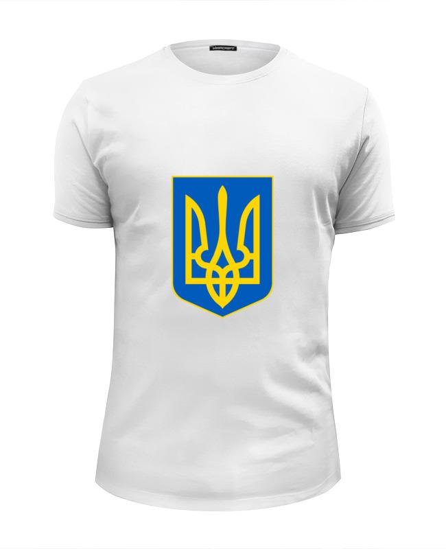 все цены на Футболка Wearcraft Premium Slim Fit Printio Герб украины онлайн