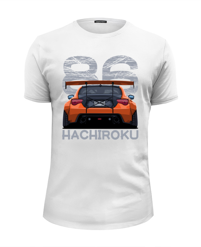 Футболка Wearcraft Premium Slim Fit Printio Hachiroku xiangban ручной работы fastion указал