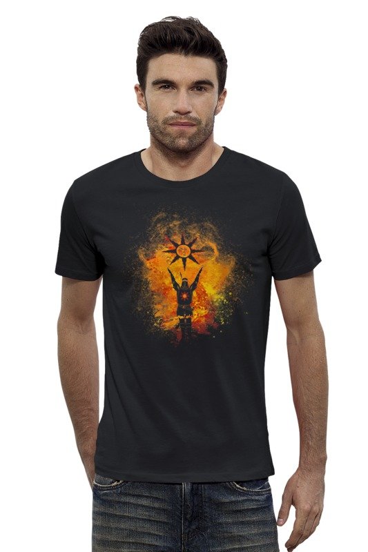 Футболка Wearcraft Premium Slim Fit Printio Славьте солнце футболка wearcraft premium printio оранжевое солнце