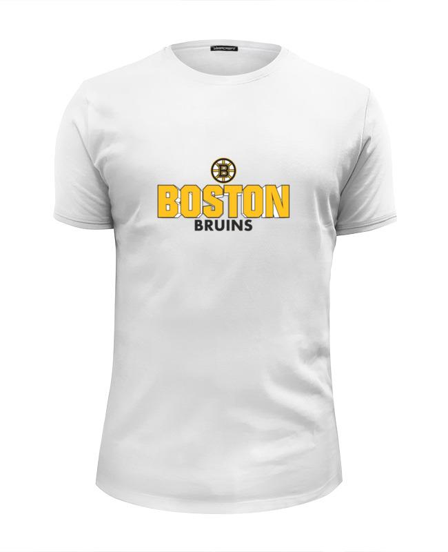 купить Футболка Wearcraft Premium Slim Fit Printio Boston bruins по цене 1031 рублей