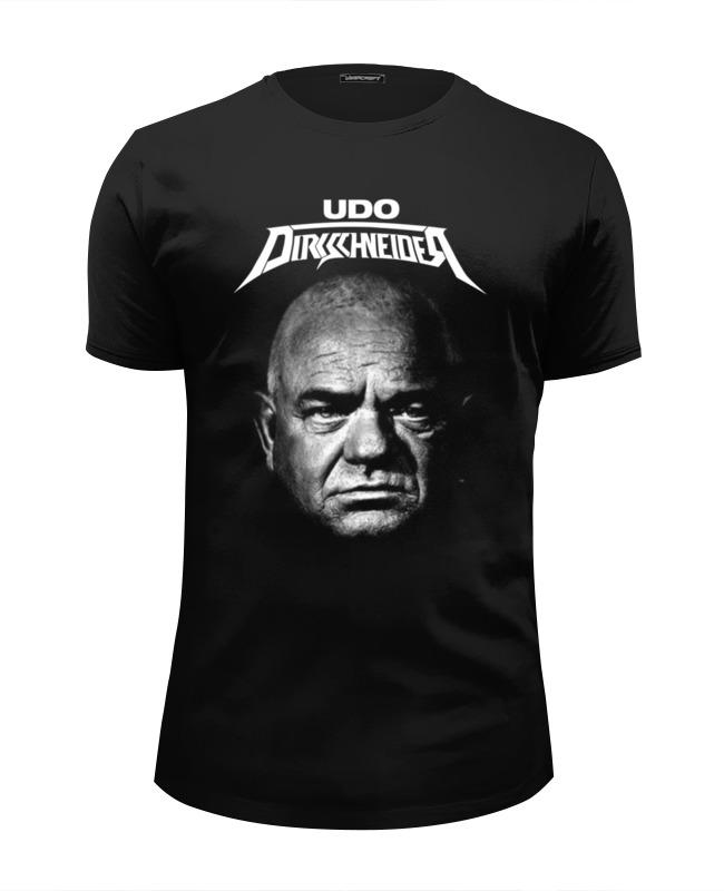 Футболка Wearcraft Premium Slim Fit Printio Udo dirkschneider футболка udo dirkschneider