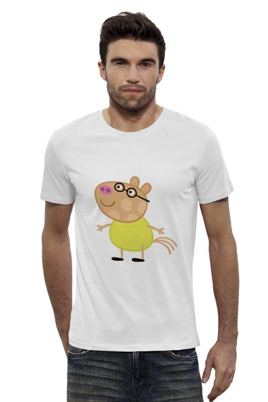 Футболка Wearcraft Premium Slim Fit Printio Peppa pig футболка wearcraft premium slim fit printio peppa pig