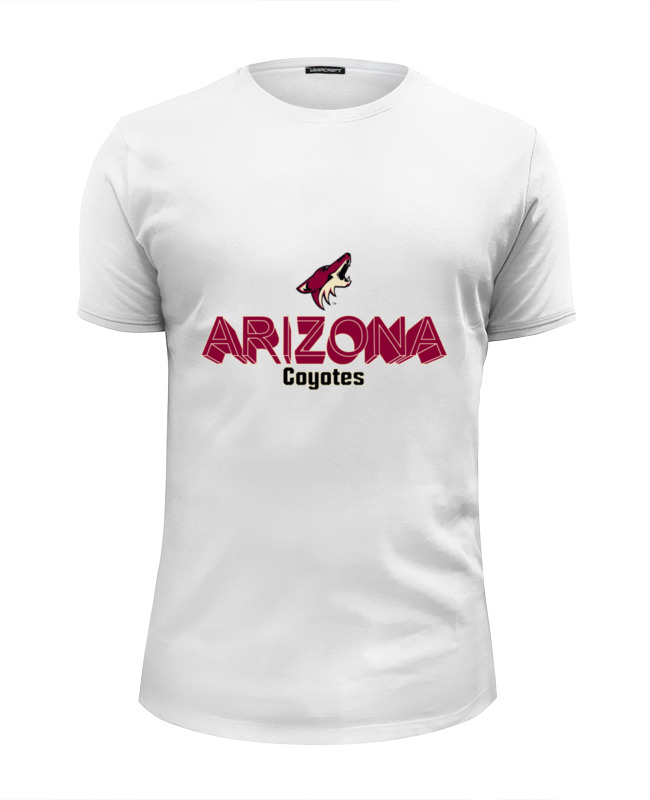 Футболка Wearcraft Premium Slim Fit Printio Arizona coyotes футболка wearcraft premium printio arizona coyotes