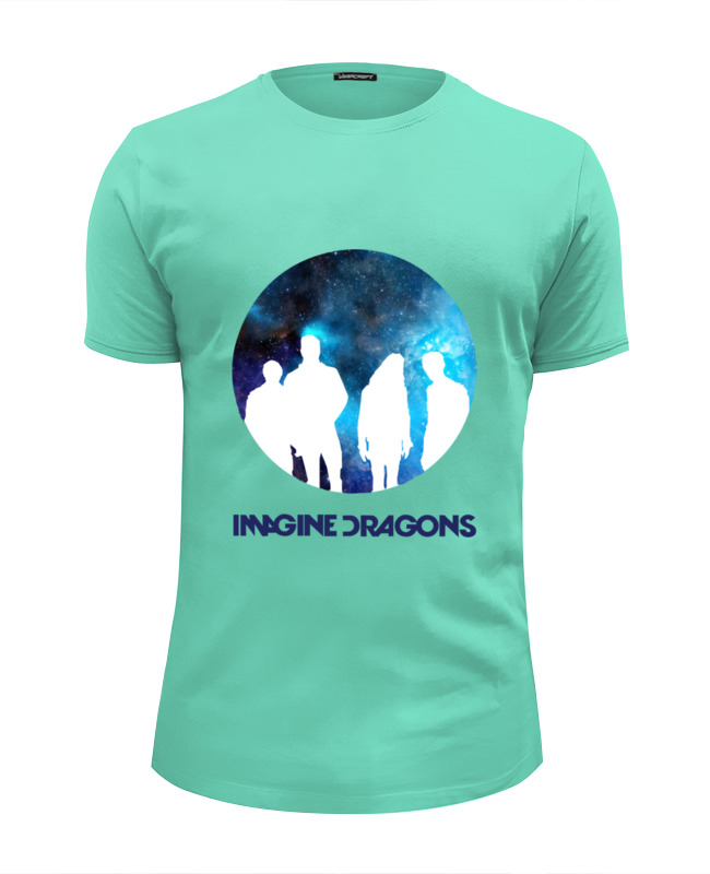 Футболка Wearcraft Premium Slim Fit Printio imagine dragons olafur arnalds olafur arnalds island songs