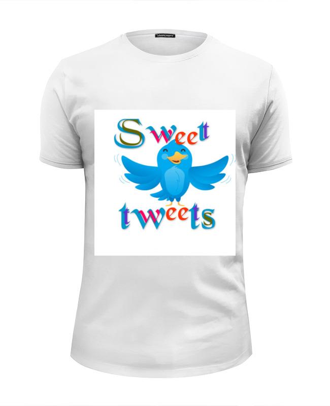Футболка Wearcraft Premium Slim Fit Printio Sweet tweets футболка wearcraft premium printio sweet lust