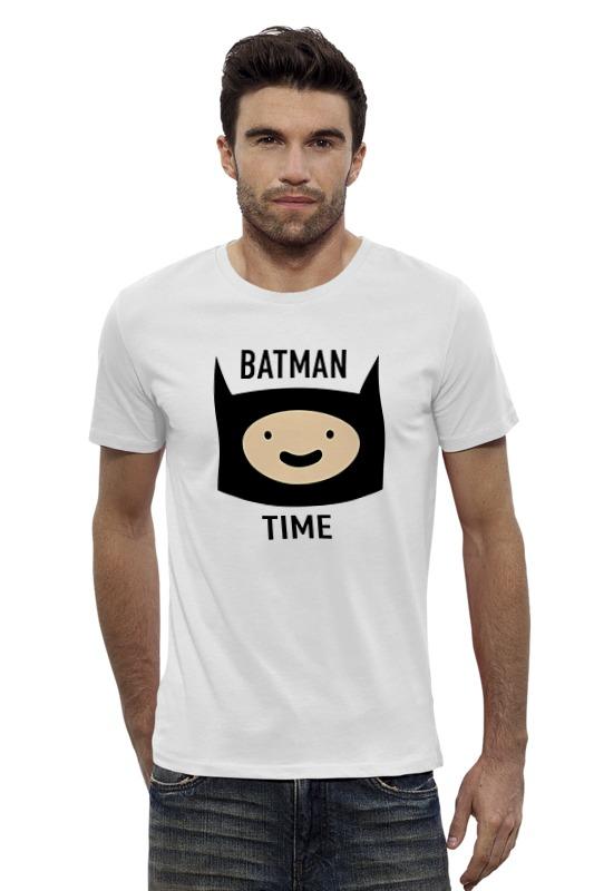 Футболка Wearcraft Premium Slim Fit Printio Batman time футболка wearcraft premium slim fit printio batman beyond