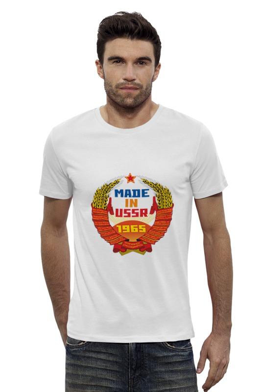 Футболка Wearcraft Premium Slim Fit Printio Ussr 1965 футболка wearcraft premium slim fit printio ussr 1966