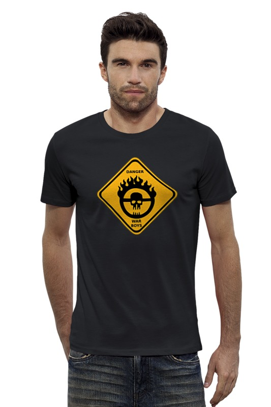 Футболка Wearcraft Premium Slim Fit Printio War boys (mad max) футболка стрэйч printio war boys mad max