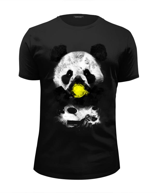 Футболка Wearcraft Premium Slim Fit Printio Панда в маске футболка wearcraft premium slim fit printio случай в океане