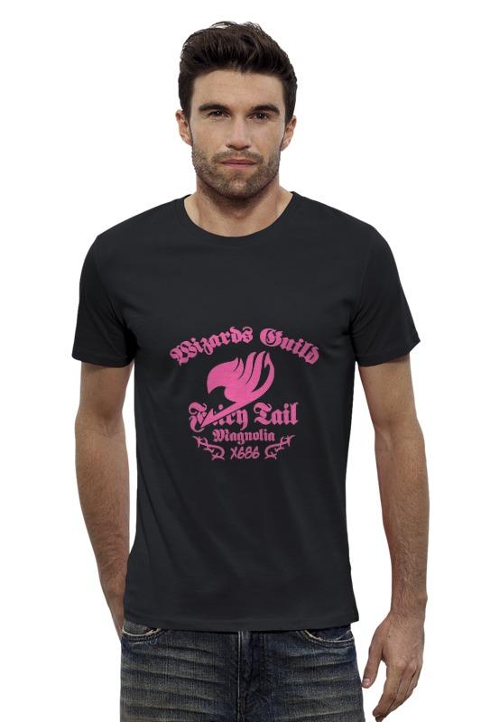 Футболка Wearcraft Premium Slim Fit Printio Fairy tail ( хвост феи ) футболка wearcraft premium printio нацу fairy tail
