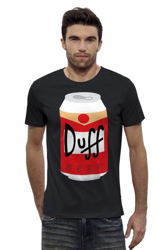 Футболка Wearcraft Premium Slim Fit Printio Пиво дафф (duff beer)