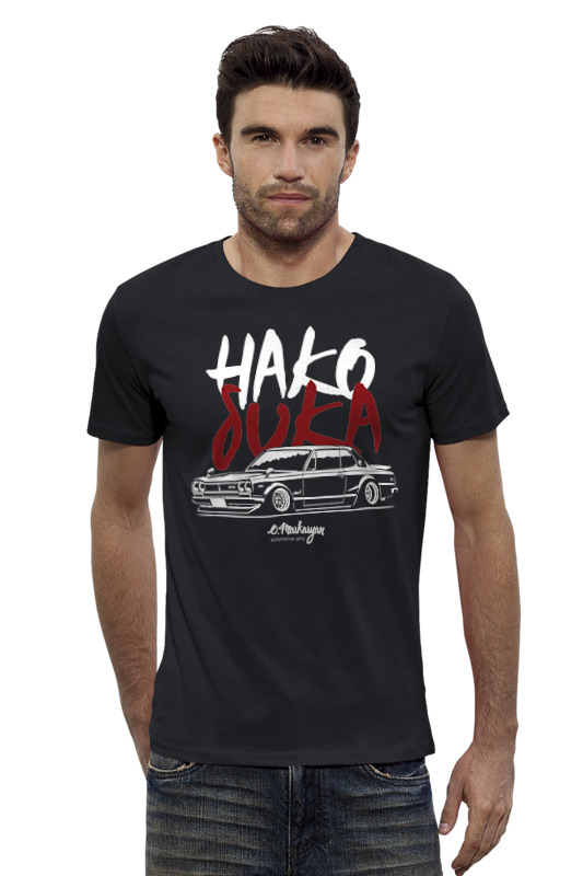 Футболка Wearcraft Premium Slim Fit Printio Nissan skyline hakosuka gtr футболка wearcraft premium slim fit printio nissan skyline r34