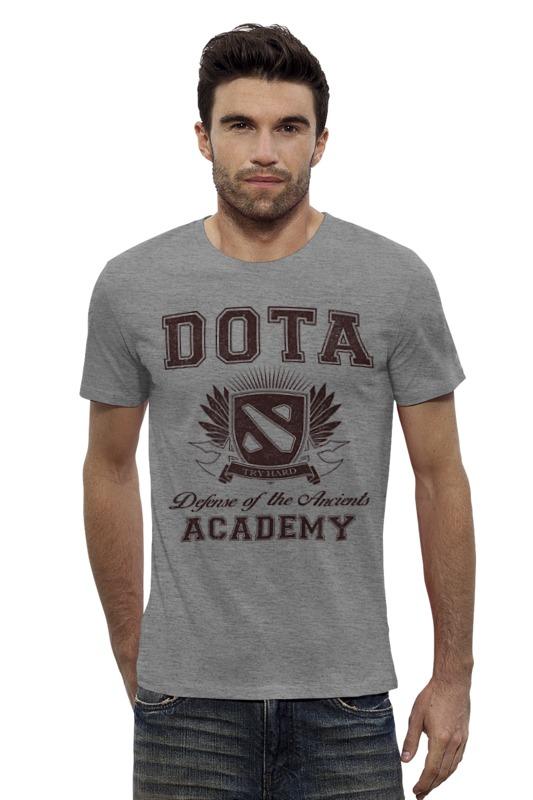 Футболка Wearcraft Premium Slim Fit Printio Dota academy реализация дефолтные квартиры в барнауле