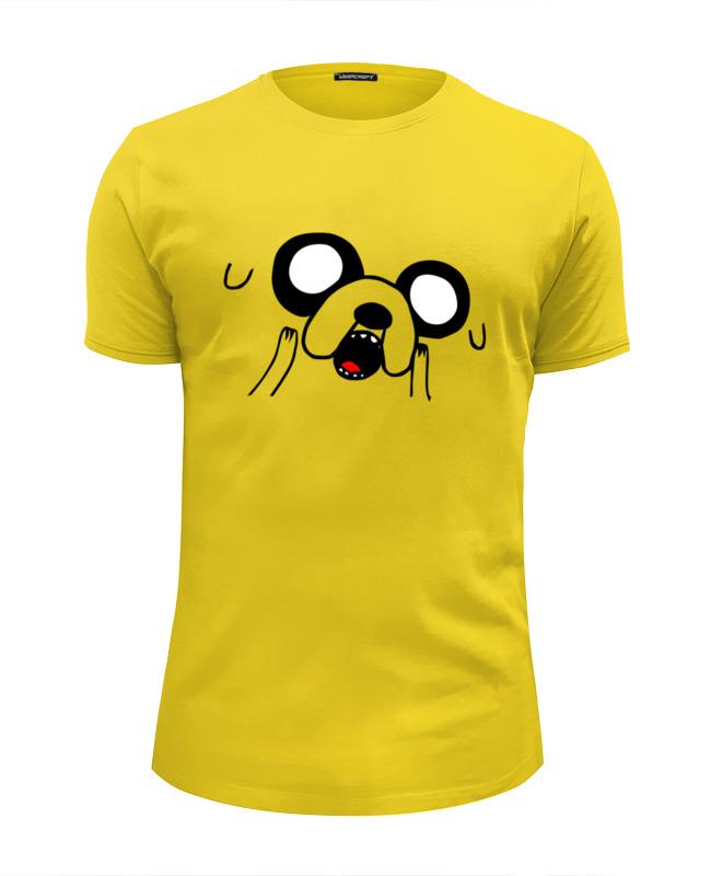 Футболка Wearcraft Premium Slim Fit Printio Finn & jake футболка wearcraft premium printio fat finn