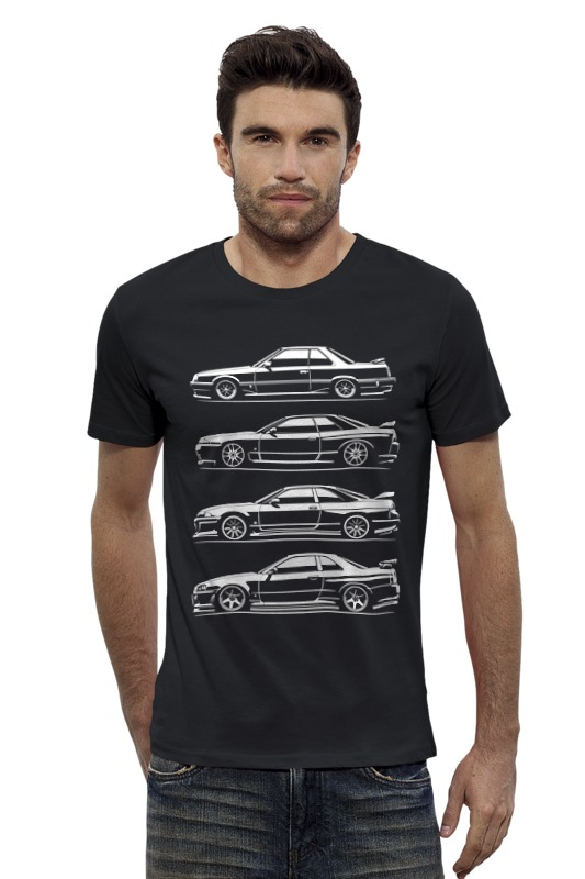 Футболка Wearcraft Premium Slim Fit Printio Nissan skyline generation футболка wearcraft premium slim fit printio nissan gtr r35