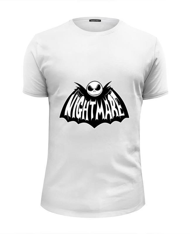 Футболка Wearcraft Premium Slim Fit Printio Night mare толстовка wearcraft premium унисекс printio night mare