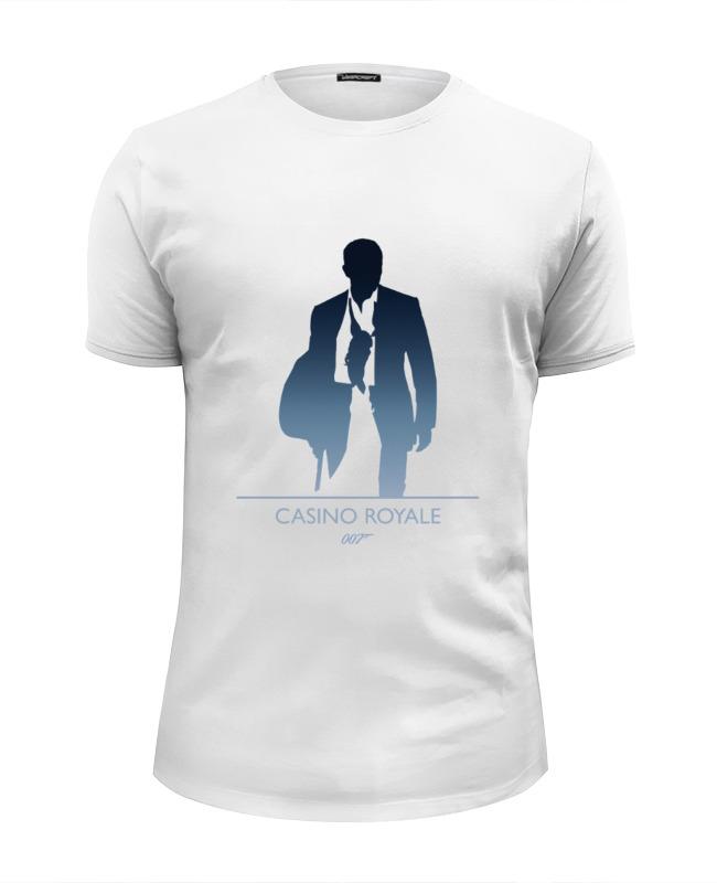 Футболка Wearcraft Premium Slim Fit Printio 007: казино «рояль» лонгслив printio 007 казино рояль