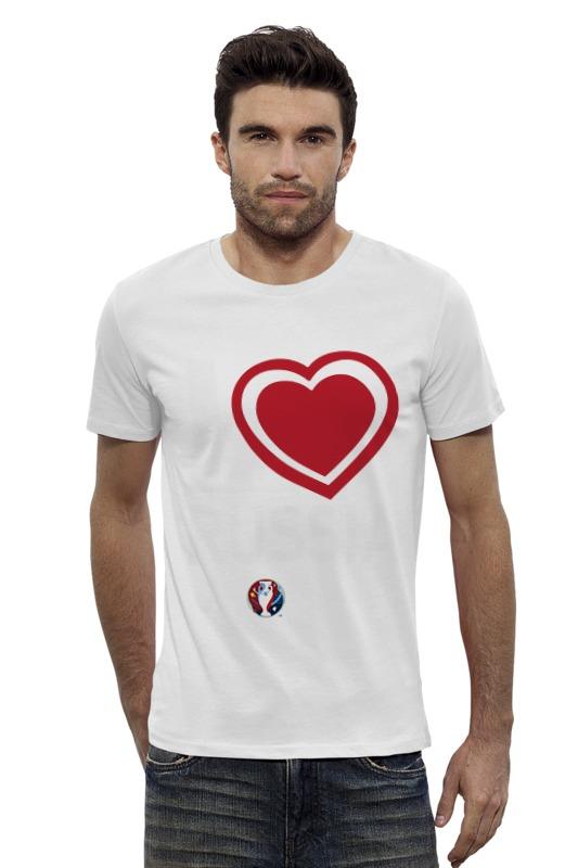 Футболка Wearcraft Premium Slim Fit Printio Евро 2016 футболка wearcraft premium slim fit printio россия russia