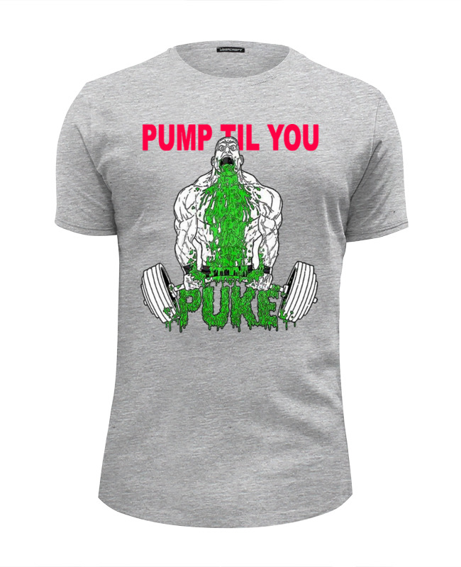 Футболка Wearcraft Premium Slim Fit Printio Pump til you cheap pump mechanical seal kit lx pump lp200 lp300 wp200 300 ja50 tda200 ea350 fittings fit lx pump shaft spanet davey qb spa