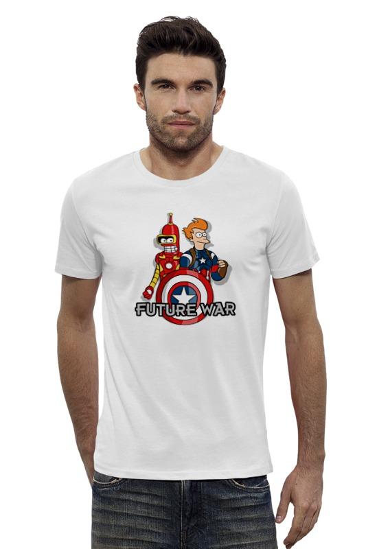 Футболка Wearcraft Premium Slim Fit Printio Футурама (мстители) футболка wearcraft premium slim fit printio мстители лего