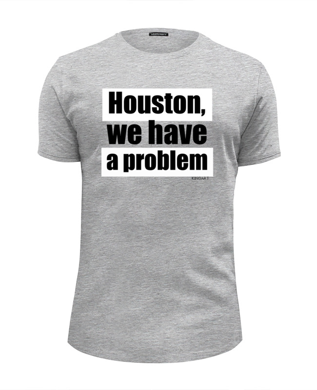 Футболка Wearcraft Premium Slim Fit Printio Houston, we have a problem houston astros at toronto blue jays