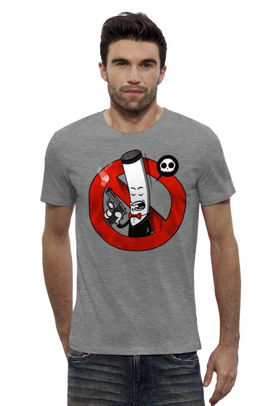Футболка Wearcraft Premium Slim Fit Printio Курение убивает! (сигарета) футболка классическая printio мачете убивает