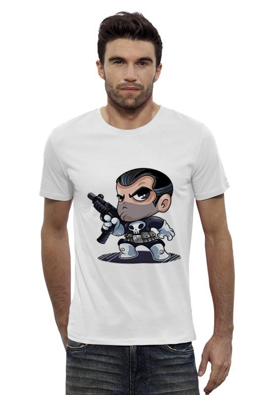 Футболка Wearcraft Premium Slim Fit Printio Каратель футболка wearcraft premium printio the punisher каратель