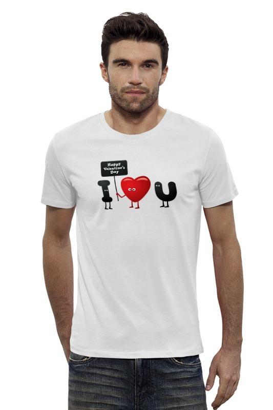 Футболка Wearcraft Premium Slim Fit Printio Я люблю тебя! футболка wearcraft premium slim fit printio я люблю мир