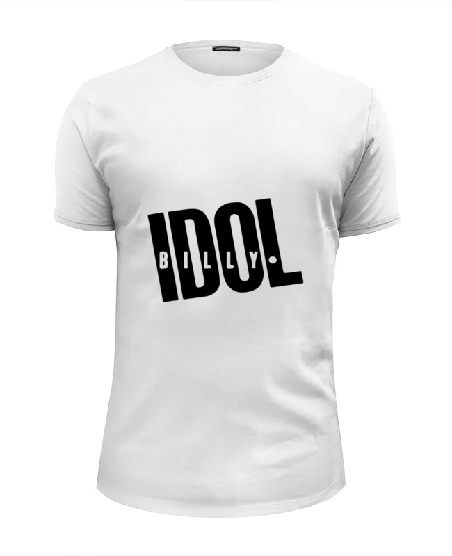 Футболка Wearcraft Premium Slim Fit Printio Billy idol сумка printio billy idol