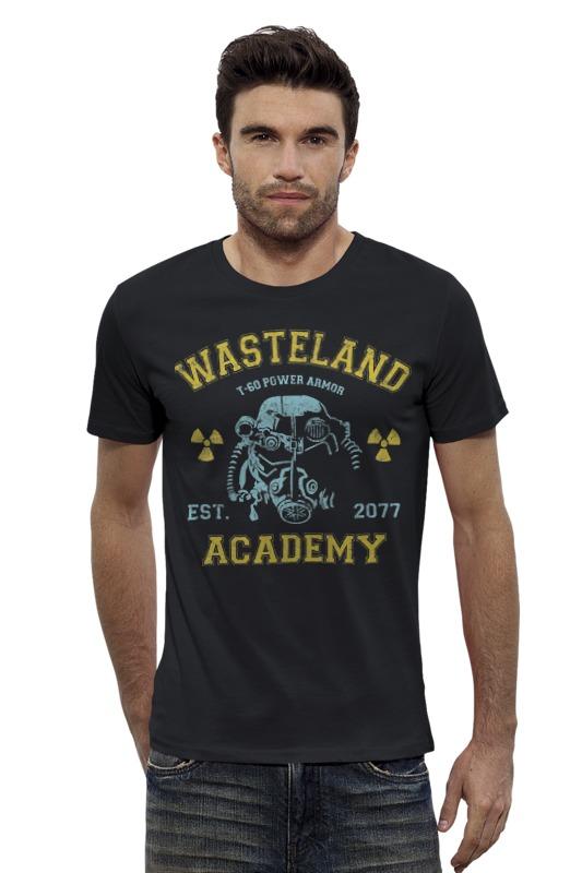 Футболка Wearcraft Premium Slim Fit Printio Fallout. wasteland academy футболка классическая printio fallout фэллаут