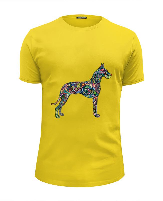 Футболка Wearcraft Premium Slim Fit Printio Собака футболка wearcraft premium slim fit printio миньон