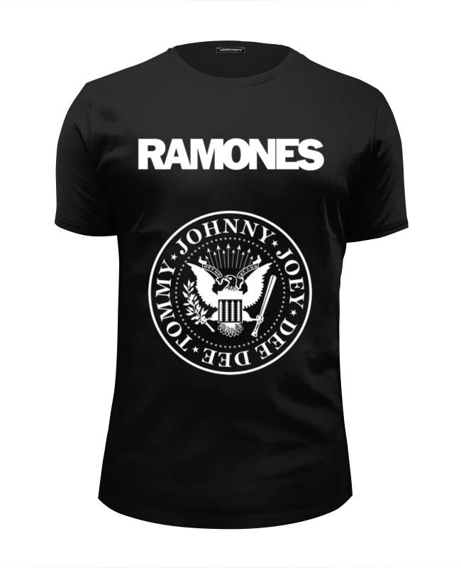 Футболка Wearcraft Premium Slim Fit Printio Ramones футболка wearcraft premium printio панк рок кафе