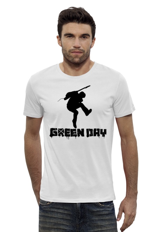 Футболка Wearcraft Premium Slim Fit Printio Green day футболка wearcraft premium slim fit printio my government fucks me every day