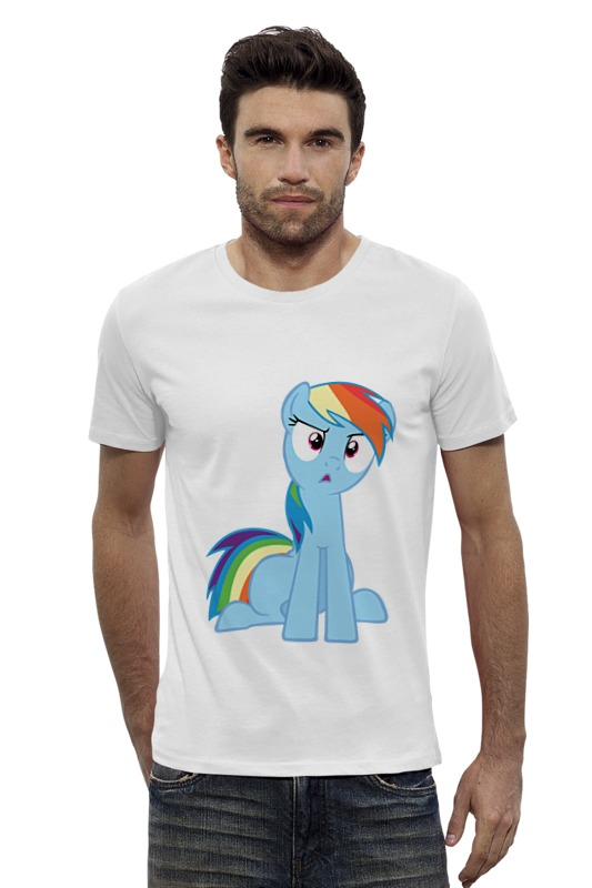 Футболка Wearcraft Premium Slim Fit Printio My little pony футболка wearcraft premium slim fit printio my little pony
