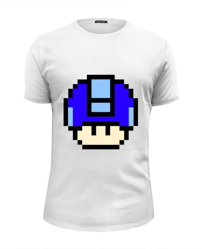 Футболка Wearcraft Premium Slim Fit Printio Мегамен футболка wearcraft premium slim fit printio spider man