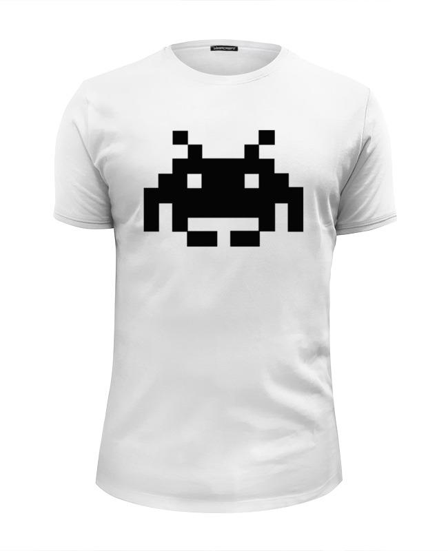 Фото - Футболка Wearcraft Premium Slim Fit Printio Космический захватчик футболка wearcraft premium slim fit printio космический рыцарь