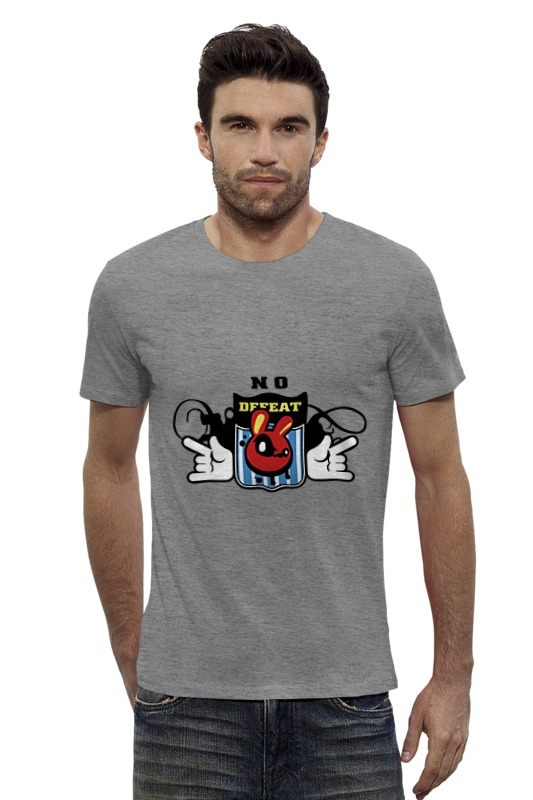 Футболка Wearcraft Premium Slim Fit Printio No defeat футболка wearcraft premium slim fit printio нет проблем no prob llama