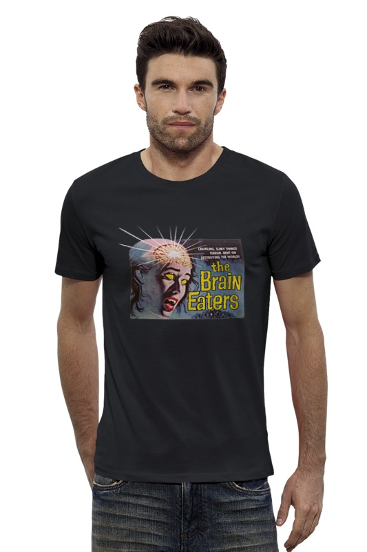 Футболка Wearcraft Premium Slim Fit Printio The brain eaters футболка wearcraft premium slim fit printio the black keys