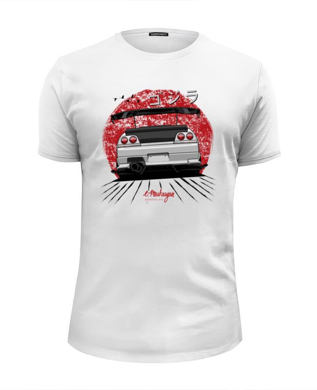 Футболка Wearcraft Premium Slim Fit Printio Nissan skyline r33 gt-r радиоуправляемая машина hpi racing туринг 1 10 sprint 2 sport nissan gt r r35