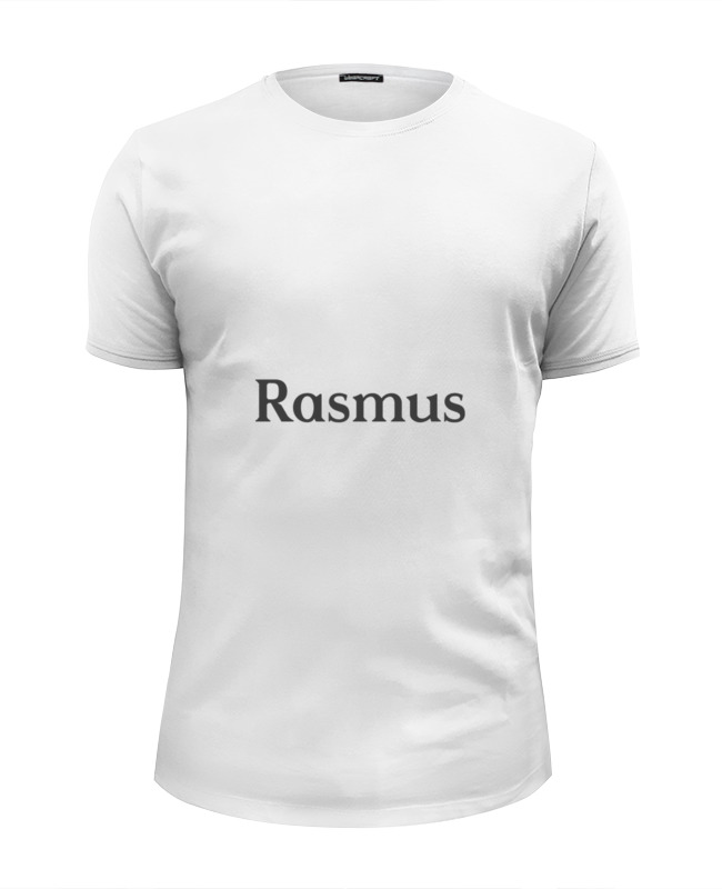 Футболка Wearcraft Premium Slim Fit Printio Rasmus толстовка wearcraft premium унисекс printio the rasmus