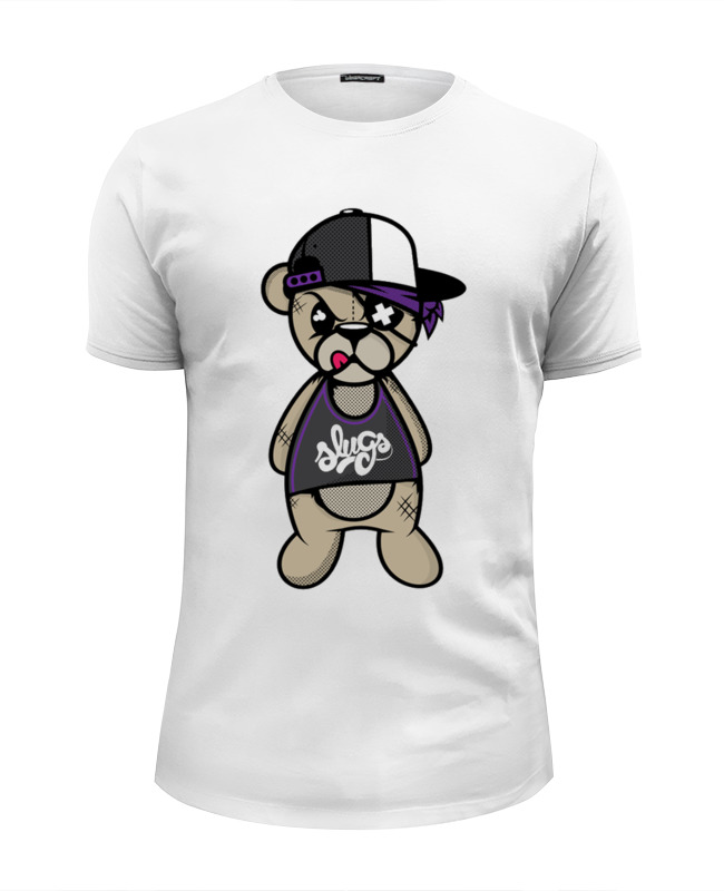 Футболка Wearcraft Premium Slim Fit Printio Crazy bear футболка wearcraft premium slim fit printio bear arms