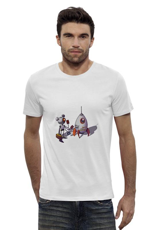 Футболка Wearcraft Premium Slim Fit Printio Happy everyday!!! футболка classic everyday