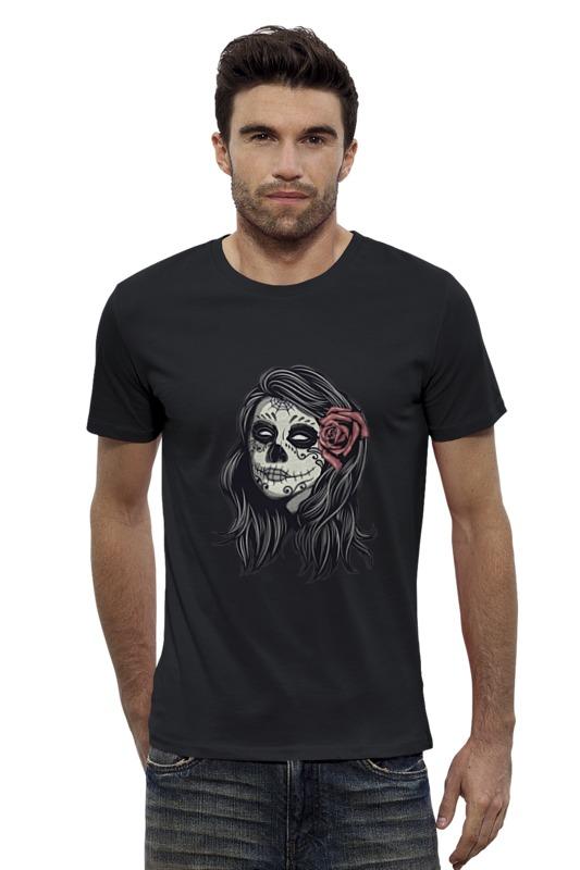 Футболка Wearcraft Premium Slim Fit Printio Dia de los muertos футболка wearcraft premium printio los angeles kings nhl usa