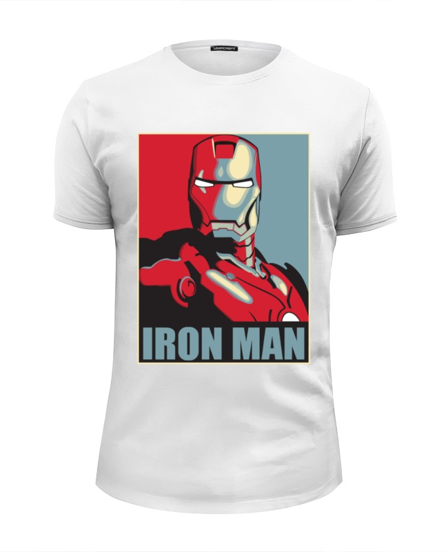 Футболка Wearcraft Premium Slim Fit Printio Iron man футболка wearcraft premium slim fit printio iron man x friday 13