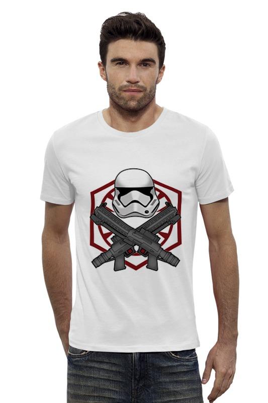 Футболка Wearcraft Premium Slim Fit Printio First order trooper - star wars лонгслив printio first order star wars