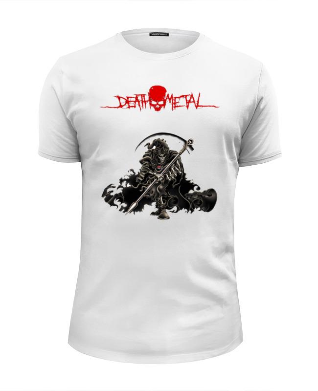 лучшая цена Футболка Wearcraft Premium Slim Fit Printio Death metal (смерть)