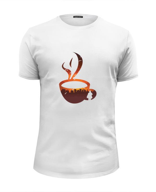 Футболка Wearcraft Premium Slim Fit Printio Городской кофе (coffee) футболка wearcraft premium slim fit printio drink coffee